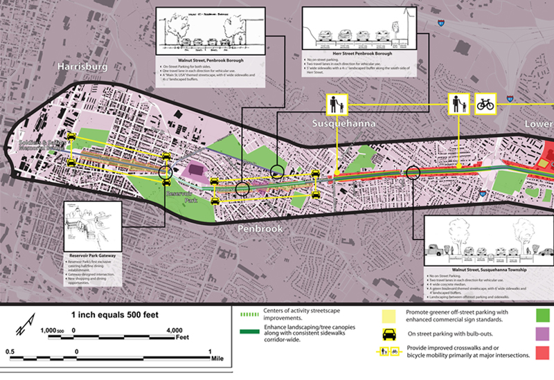 Corridor Revitalization Plans