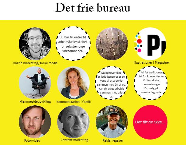 Det frie bureau - få hjælp til kommunikation, markedsføring og grafiske opgaver