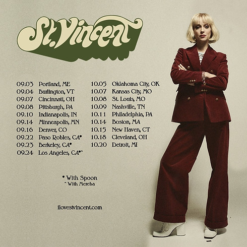 Win tickets to St Vincent at The Icon