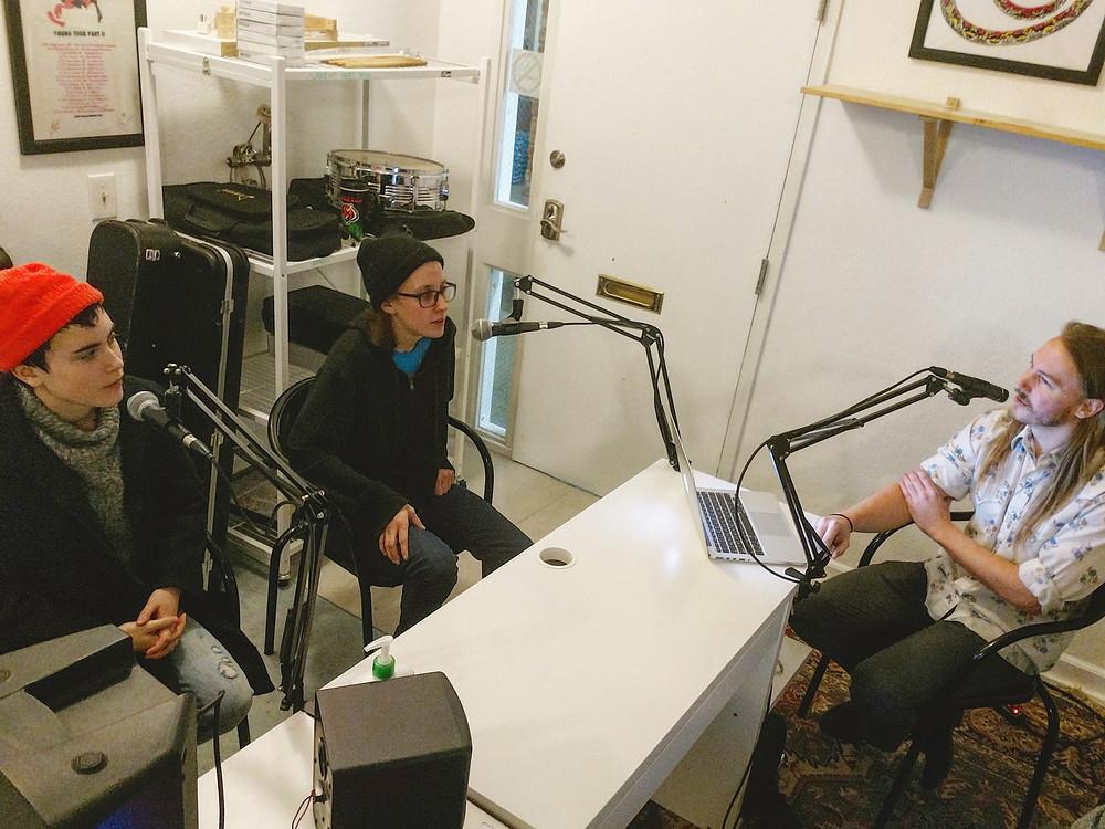 Music Director Nils Illokken interviews Canadian alt-pop band Partner