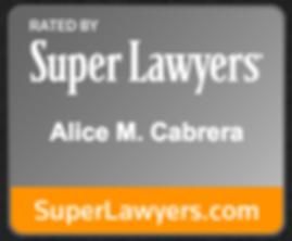 Super Lawyers Alice Cabrera