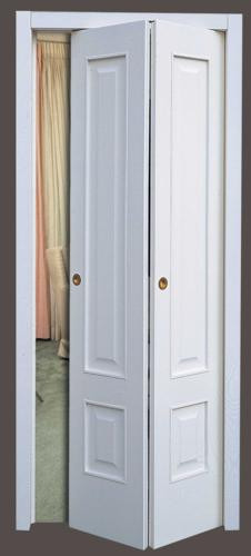 Porta simmetrica con due specchiature