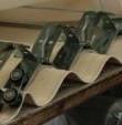 Porta a soffietto particolare cerniera - modello ladyport