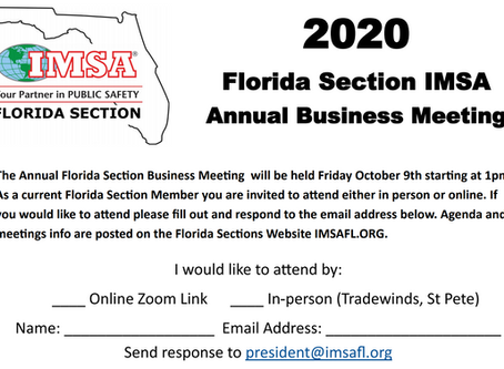 Annual Business Meeting - YOU!...are invited!