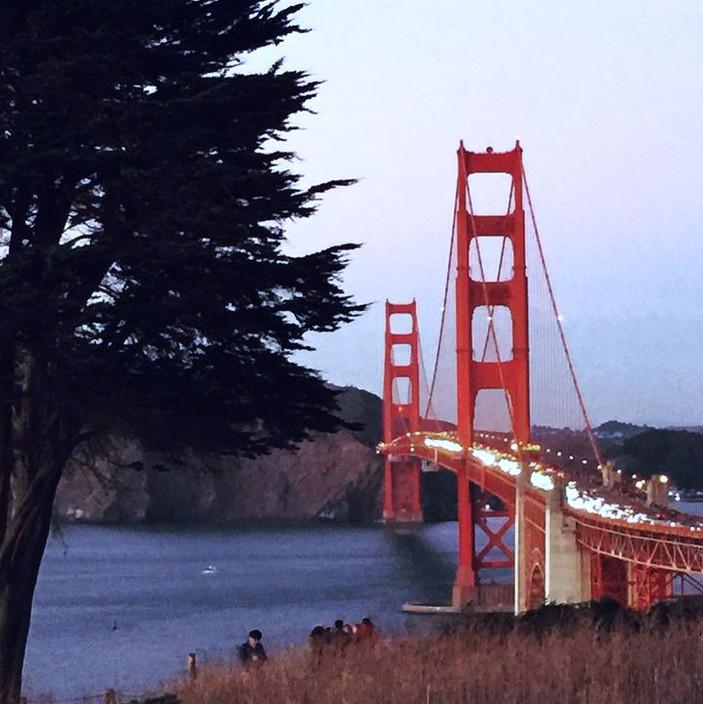 Golden Gate Bridge, Winter, 2018.