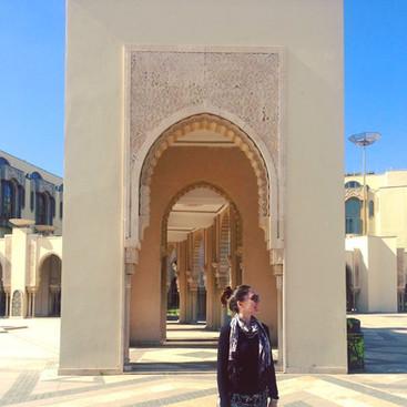 Marrakech Mosque, Spring, 2017.