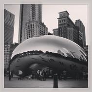 Millennium Park Chicago in Chicago, Fall, 2013.