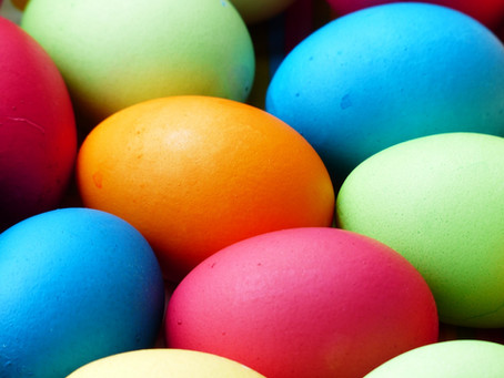 Natural Easter Egg coloring resources and Links