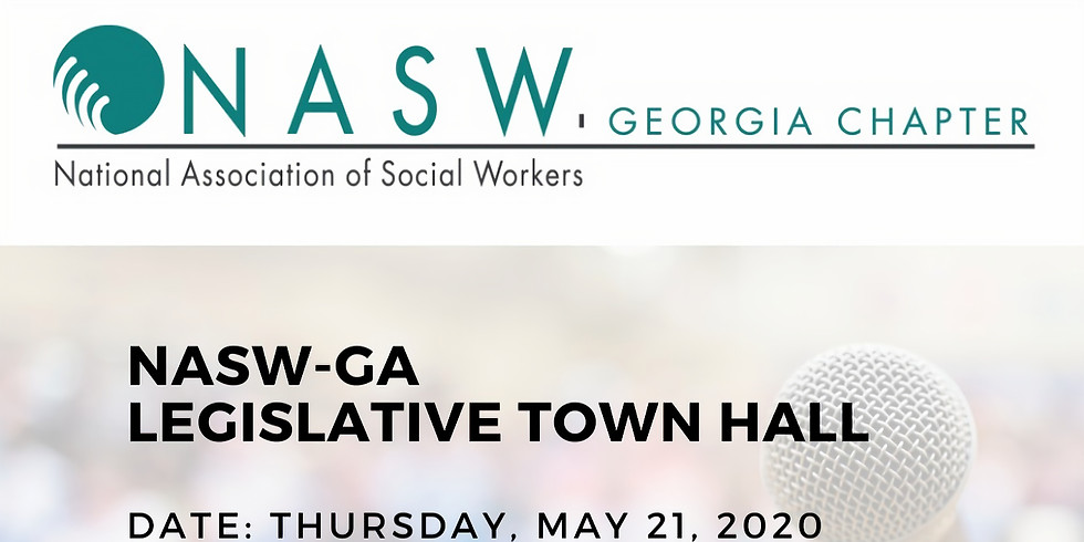 NASW-GA Legislative Town Hall