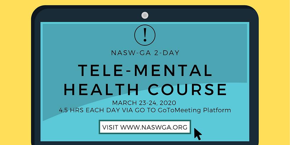 NASW-GA 2-Day Tele-Mental Health Course