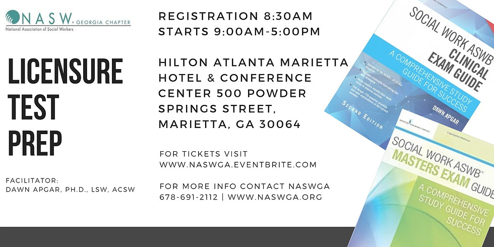 NASWGA Chapter host Licensure Prep Course at the 2019 NASWGA Annual Conference