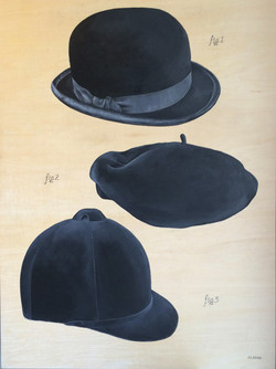 A CONVERSATION OF HATS