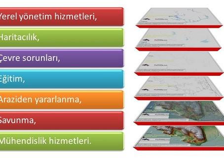 Coğrafi bilgi sistemlerinin kullanıldığı alanlar