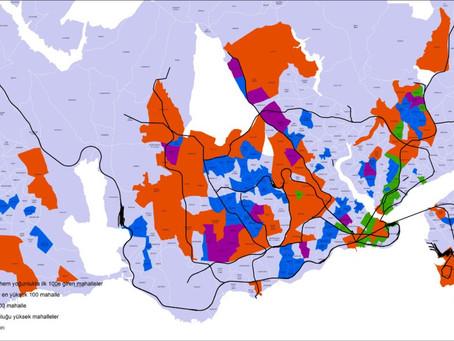 İstanbul'da en çok nerede iş yeri yoğunluğu var?