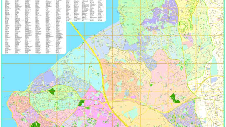 Sokak İndeksli Haritalar