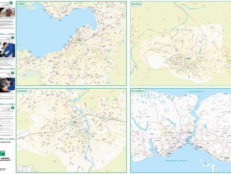Promosyon ve tanıtım haritalarıyla bilinirliğinizi arttırın