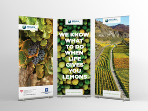 Agro Recura Rollup Banners