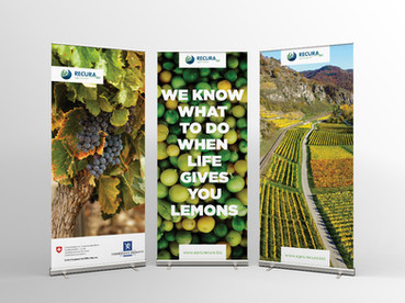 Agro Recura Roll-up Banners