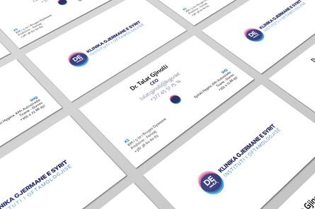 German Eye Clinic Rebranding