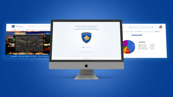 UI/UX for the Municipalities of Kosovo.