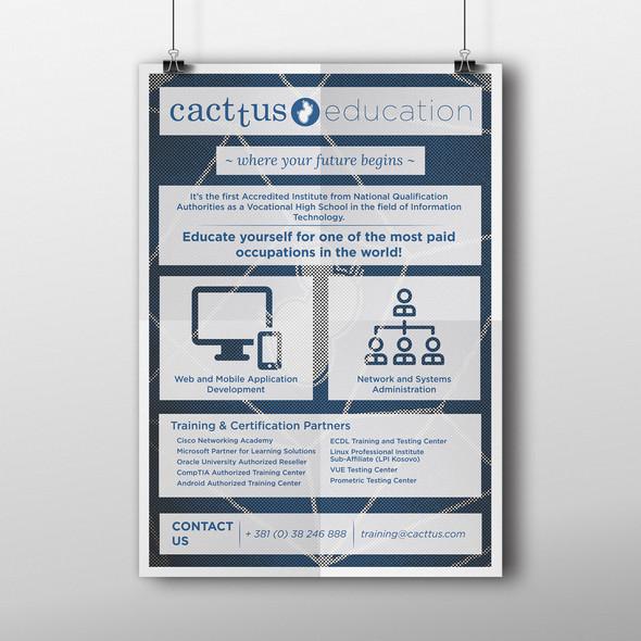 Cacttus Education Poster