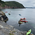 Explore the coast in a sea kayak