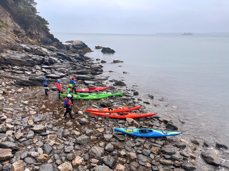 Guided Sea kayak trip Level 1