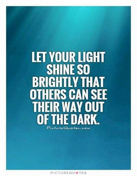 Shining your light is NOT about being Perfect