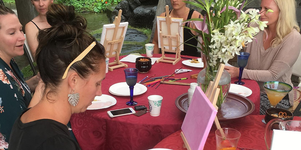 CUP 'N CANVAS PAINTING PARTY