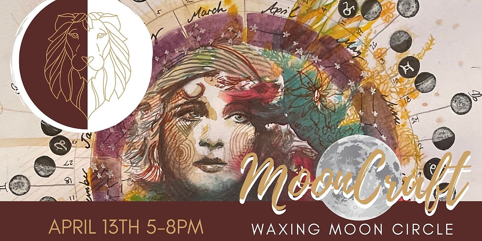 MoonCraft Waxing Moon Circle