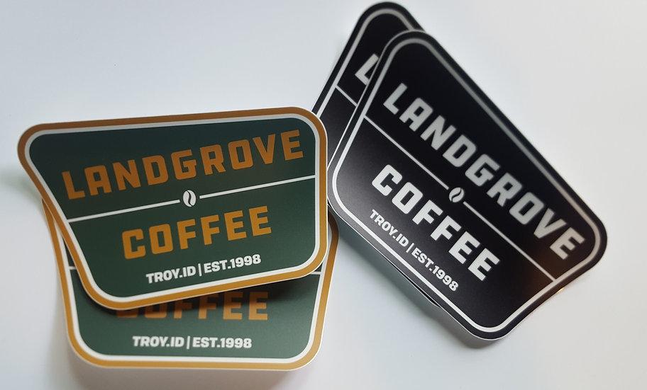 Landgrove Stickers