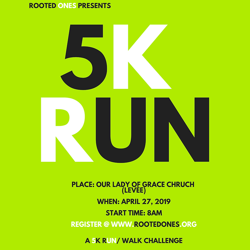 Rooted One's First 5k Run