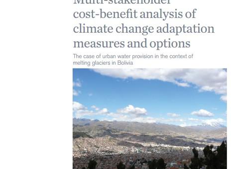 COSTO / BENEFICIO en base a multiples actores / Agua, glaciares y cambio climático en la ciudad de L