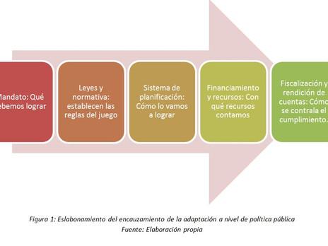 Incorporando resiliencia y consideraciones de bajo carbono en los procesos de política pública.