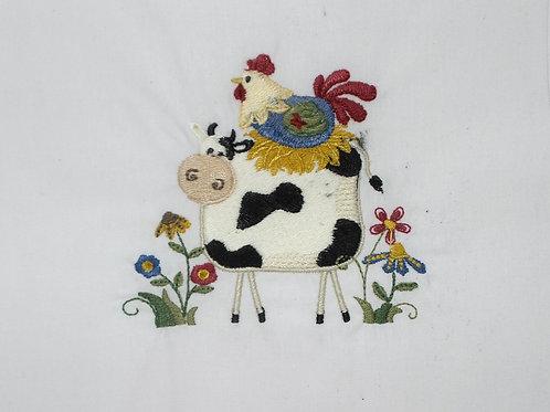 Vaca e Galinha