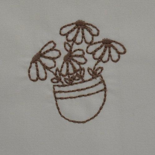 Vasinho com flor
