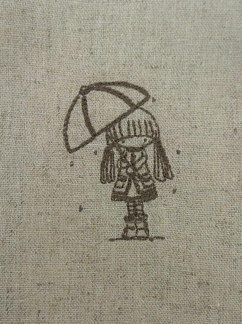 Menina Guarda-chuva P