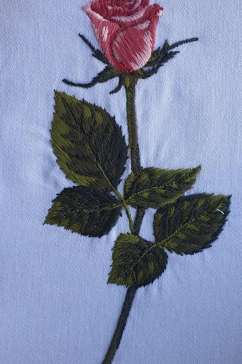 Botão de Rosa G