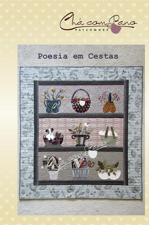 Projeto - Painel Poesia em cestas