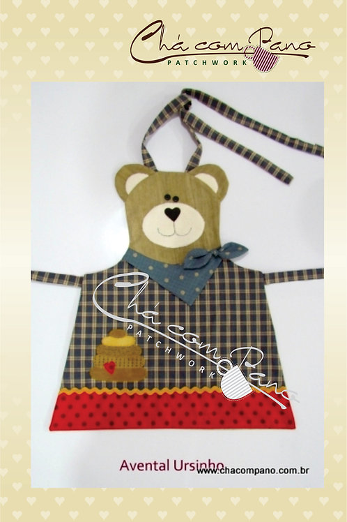 Projeto - Avental Urso