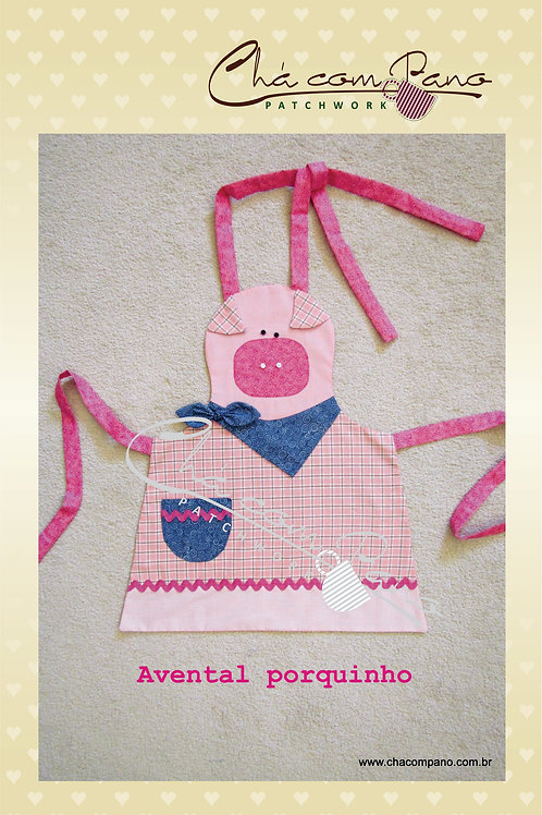 Projeto- Avental Porco