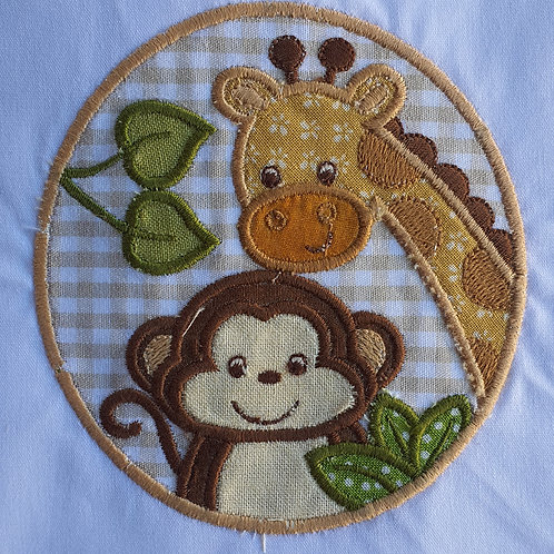 Safari - Macaco e Girafa