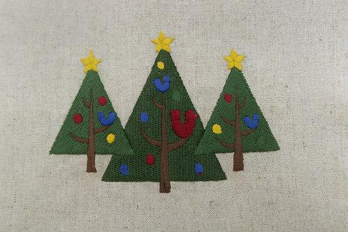 Trio Árvores de Natal