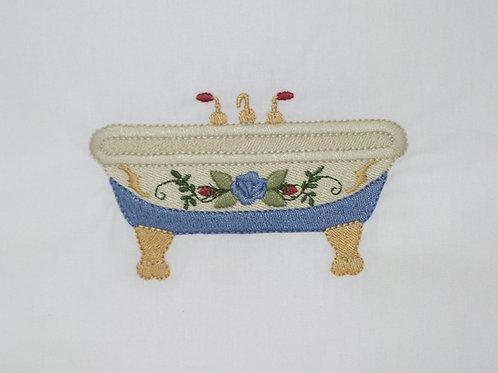 Banheira Azul