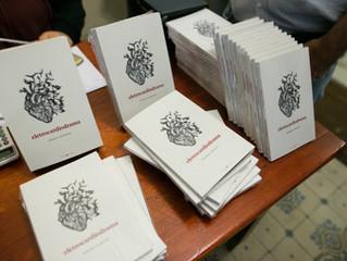 Lançamento do livro 'Eletrocardiodrama' de Germana Zanettini na Casa das Rosas