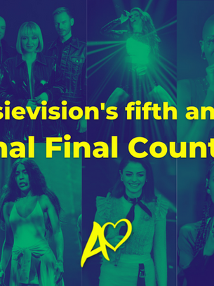 Our fifth National Final Countdown is open for voting