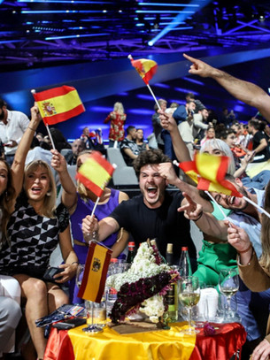 Mejores amigos - Spain's voting partners over the last five Eurovision Song Contests