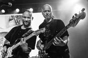 Marco Mensen (gitaar, Alex Heikamp (bass)