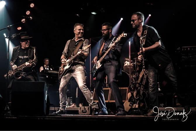 The Boss Brothers live on stage bruce springsteen tribute nederland benelux europa duitsland belgië