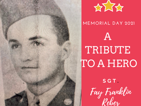 A Memorial Day Tribute to the Uncle I Never Knew: Guest Post by Dianne Dalton Gamblin